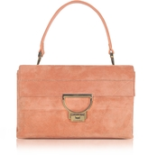 Coccinelle Pompelmo Suede Arlettis Shoulder Bag