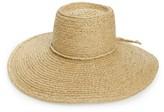 Brixton Women's Paite Raffia Floppy Hat - Beige