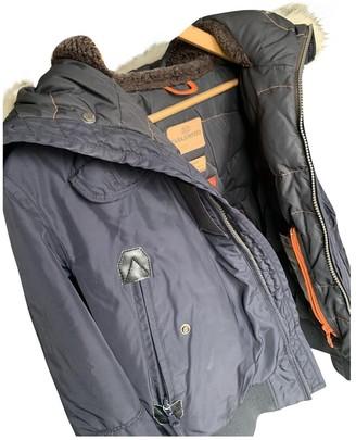 Parajumpers Black Cotton Coat for Women