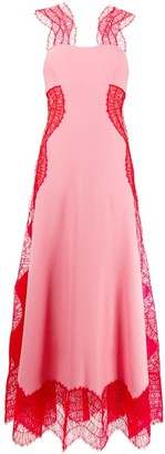 Givenchy Two Tone Long Dress