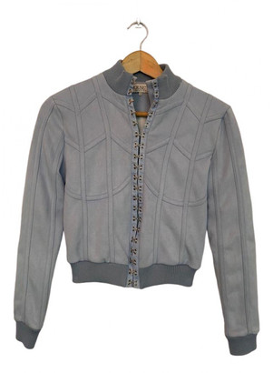 House Of CB Grey Suede Jackets