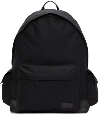 Juun.J Black Side Pocket Backpack