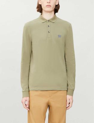 BOSS Leisure cotton-jersey polo shirt