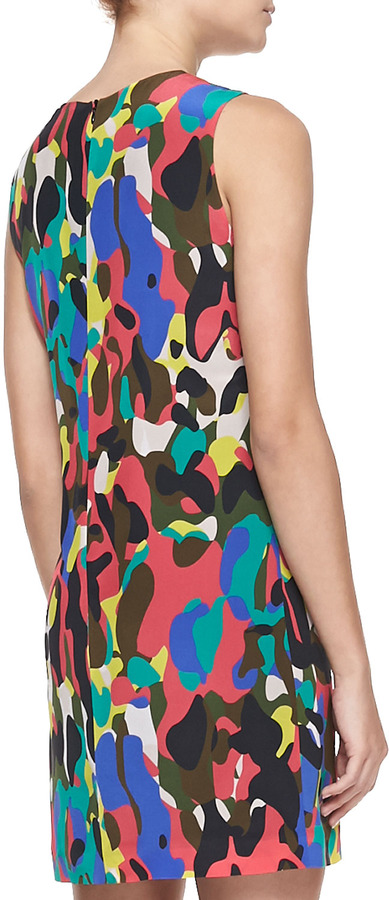 M Missoni Camouflage-Print Shift Dress