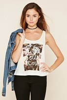 Forever 21 FOREVER 21+ A La Belle Etoile Graphic Tank