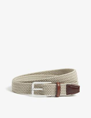 HUGO BOSS Woven elasticated belt