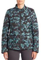 Armani Collezioni Printed Puffer Jacket