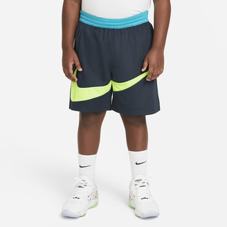 Nike Big Kids' (Boys') Graphic Basketball Shorts (Extended Size Elite