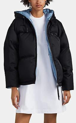 Prada Women's Tech-Twill Down Puffer Coat - Black