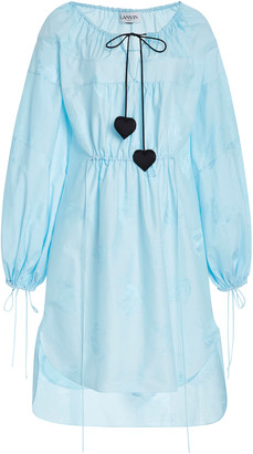 Lanvin Mother & Daughter Cotton-Silk Dress