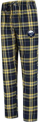 Buffalo David Bitton Unbranded Men's Concepts Sport Navy/Gold Sabres Hillstone Flannel Pants