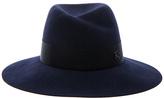 Maison Michel Virginie Felt Hat in Blue.