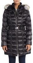 Dawn Levy Alicia Fur-Trimmed Down Puffer Coat