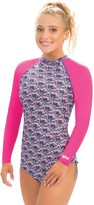 Dolfin Uglies Candy Mountain Print Long SleeveRash Guard