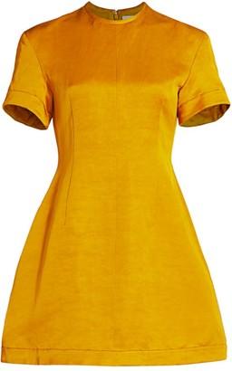 KHAITE Marcia Mini Dress