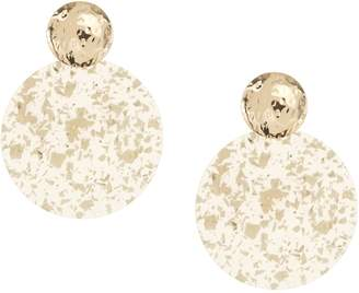Etereo Neutrals Statement Earrings