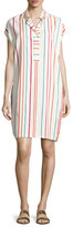 Loro Piana Abito April Santa Cruz Striped Shirtdress