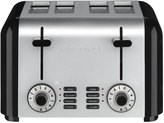 Cuisinart CPT-340 Compact 4-Slice Toaster, Brushed Stainless