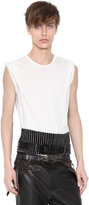 Haider Ackermann Printed Cotton Jersey T-Shirt