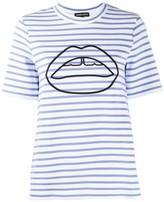 Markus Lupfer Ivy Ponte Stripe T-shirt