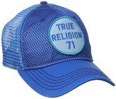True Religion Men's Mesh Front with Medallion Logo