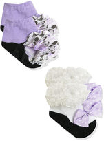 Baby Essentials 2-pk. Frilly Socks Set - Baby Girls One Size