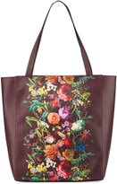 Elliott Lucca Bali Floral Faux-Leather Tote Bag, Multi