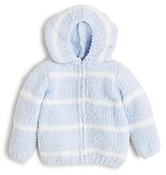 Angel Dear Boys' Striped Hooded Jacket - Baby