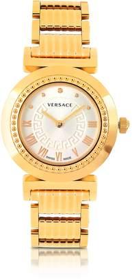 Versace Vanity Lady Rose Gold Stainless Steel Women's Watch