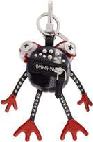 Burberry Black Frog Charm Keychain