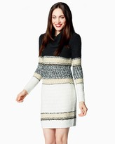 Charming charlie Big City Colorblock Sweater Dress