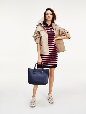 Tommy Hilfiger Stripe Relaxed Fit Polo Dress
