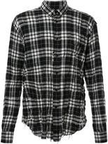 Saint Laurent signature oversized Yves collar shirt - men - Cotton/Polyurethane - 40