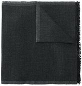 Tom Ford diagonal stripe scarf - men - Wool - One Size