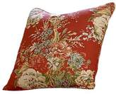 Sure Fit Ballad Bouquet by WaverlyTM Knife Edge Pillow Slipcover in Crimson