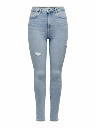Only Women's Onlgosh Life Hw Skinny ANK Bay509 Noos Jeans