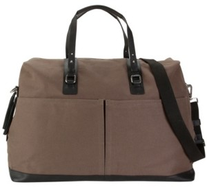 Hadaki Canvas and Genuine Leather Weekender