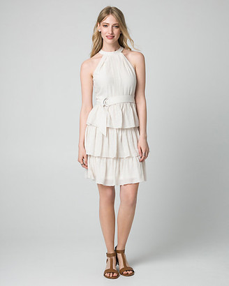 Le Château Ghost Gauze Halter Dress