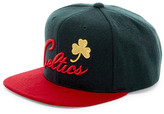Mitchell & Ness Celtics Brushed Holiday Snapback
