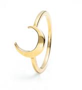 Lulu Frost Code 14Kt Moon Ring