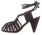 Etoile Isabel Marant Leather Caged Sandals