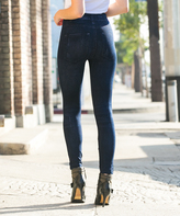 Indigo Denim-Look Leggings