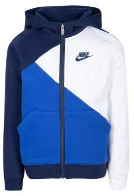 Nike Boy's Colorblock French Terry Hooded Jacket