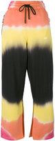 Off-White striped trousers - women - Cotton - XS