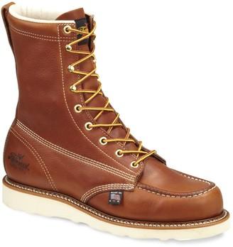 Thorogood American Heritage Men's Mid-Calf Moc-Toe Work Boots