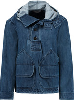 Marc by Marc Jacobs Denim hooded jacket