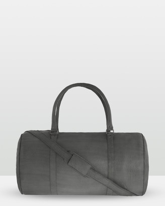 Cobb & Co - Men's Black Satchels - Cobram Soft Leather Duffle Bag - Size One Size, Unisex at The Iconic