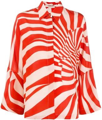 Roberto Cavalli Zebra Avantgarde printed shirt