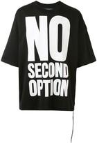 Mastermind World boxy fit slogan print T-shirt