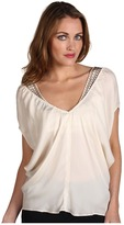 Shelley Miha Top (Alabaster) - Apparel